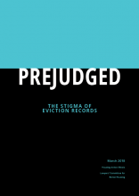 Prejudged: The Stigma of Eviction Records